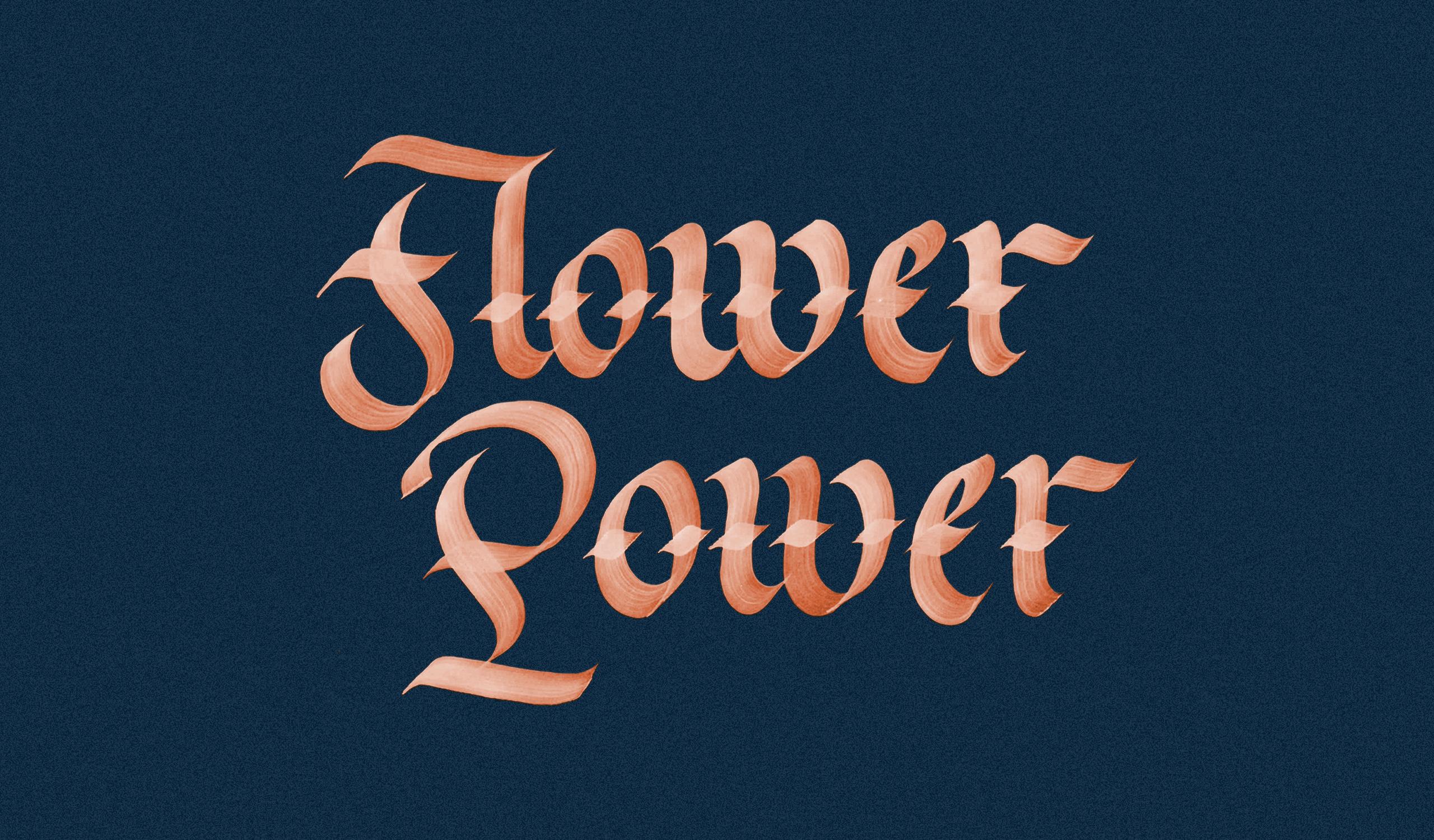 lettering_flower
